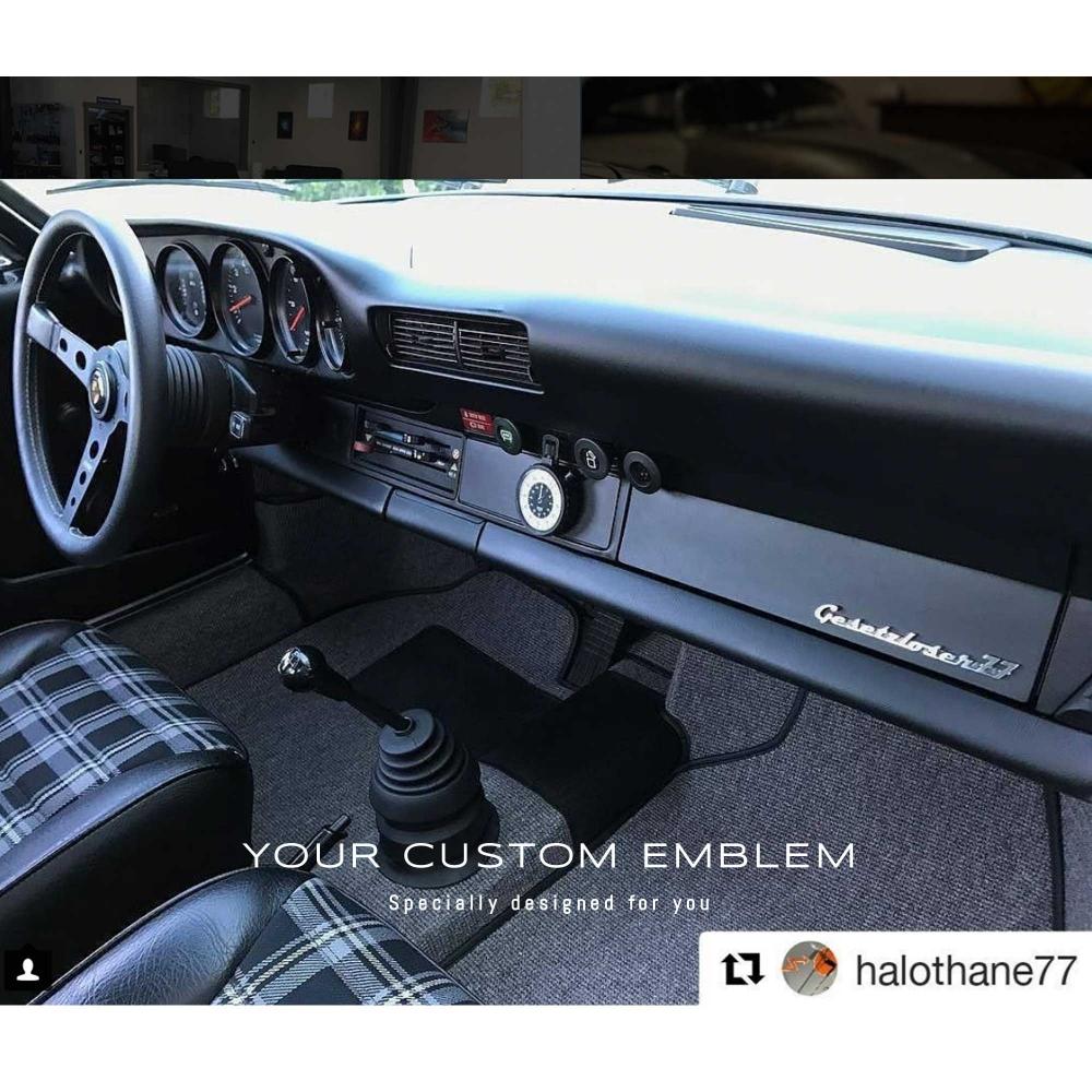 Gesetzloser 77 Custom Made Emblem in 100% Stainless Steel
