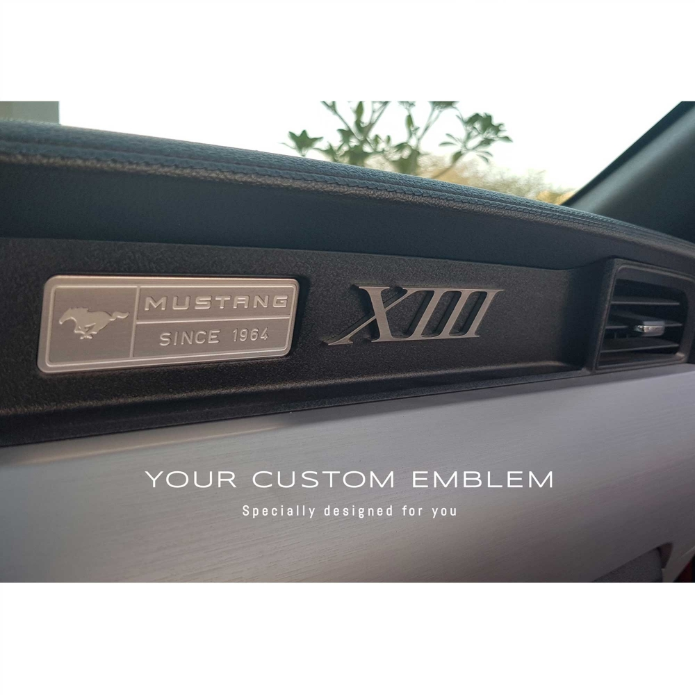 XIII Custom made Emblem in 100% Stainless steel - Design and size done as requested