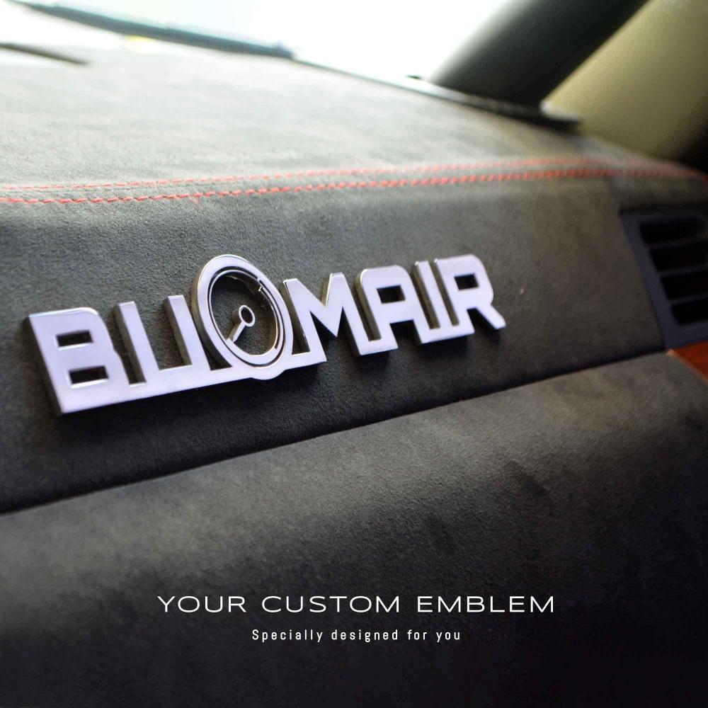 BU OMAIR design as sent in stainless steel mirror finishing
